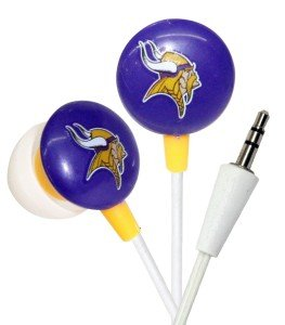 Minnesota Vikings Ear Buds image
