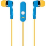 NFL San Diego Chargers Hands Free Ear Buds with Microphone thumbnail