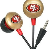 San Francisco 49ers iHip NFL Earphones – Ear Buds – Headphones thumbnail