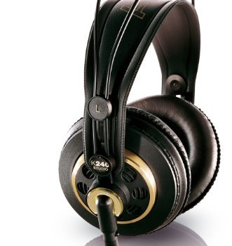 AKG K 240 Semi-Open Studio Headphones image