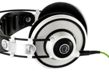 AKG Q 701 Quincy Jones Signature Reference-Class Premium Headphones (White) image