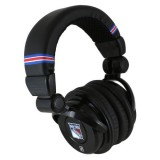 NHL New York Rangers IHIP Pro DJ Headphones with Microphone thumbnail