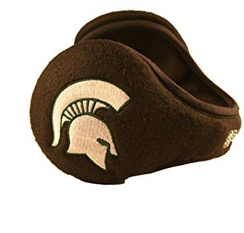 Michigan State Spartans Fleece Ear Warmers Muffs Adult One Size Fits Most image
