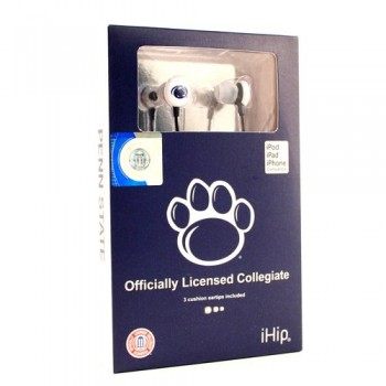 NCAA Penn State Nittany Lions Team Logo iHip Ear buds (iPod, iPad, iPhone Compatible) image