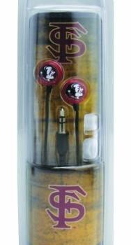 NCAA Florida State Seminoles Blast Earbud Headphones image