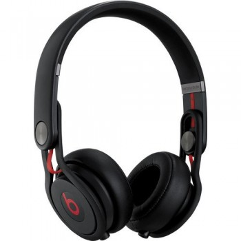 Beats by Dr. Dre Mixr High Volume Noise Isolating Lightweight DJ Headphones with Swiveling Ear Cups (Black) image