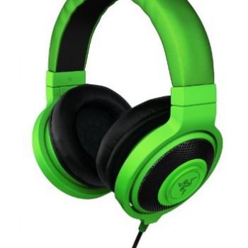 Razer Kraken Over Ear Headphones – Green image