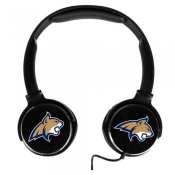 Montana State Fighting Bobcats Sonic Boom Headphones image