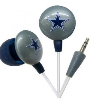 Dallas Cowboys iHip NFL Earphones – Ear Buds – Headphones image