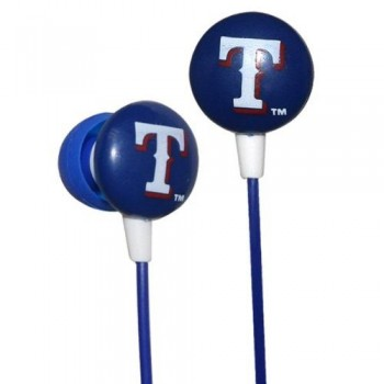 Texas Rangers MLB Team Logo iHip Ear buds (iPod, iPad, iPhone Compatible) image