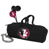 NCAA Florida State Seminoles Scorch Earbuds with Bud Bag thumbnail