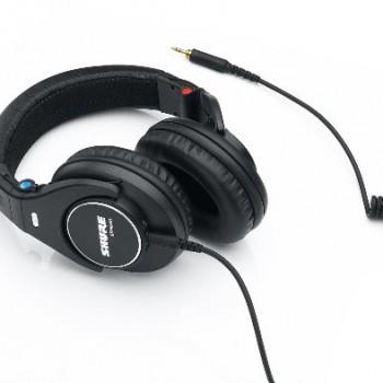 Shure SRH840 Professional Monitoring Headphones (Black) image
