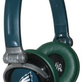 NFL Philadelphia Eagles iHip Slim DJ Headphones thumbnail