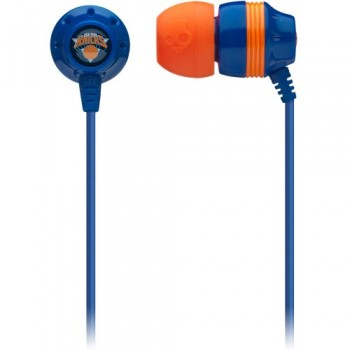 Skullcandy New York Knicks Ink'd NBA Series Sports Collection Earphones/Earbuds Headphone – Blue image