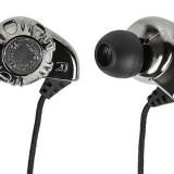 Monoprice 108320 Enhanced Bass Hi-Fi Noise Isolating Earphones, Silver thumbnail
