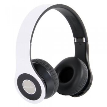 Bluedio Model B – Wireless and Bluetooth Headphones w/ FM Radio/ SD Card-(White) image