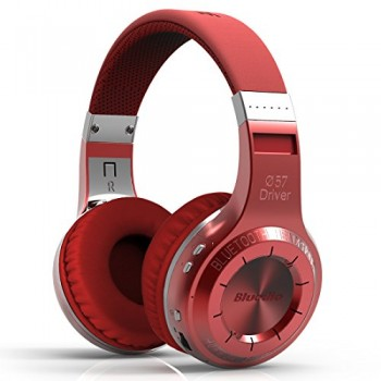 Bluedio HT(shooting Brake) Wireless Bluetooth 4.1 Stereo Headphones (Red) image