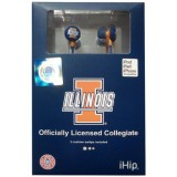 NCAA – Illinois Fighting Illini iHip Earphones – Ear Buds – Headphones thumbnail