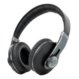 Omni By JLab Premium Folding Bluetooth Wireless Over-Ear Headphone with Mic & Carrying Case, Black Pearl thumbnail