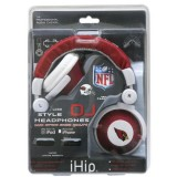NFL Arizona Cardinals Team Logo DJ Headphone thumbnail