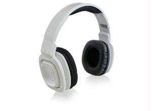 Adesso Headphone Xtream H3W White Bluetooth Rotatable DJ Style Headphones image