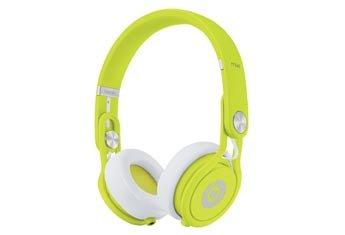 Beats by Dr. Dre Mixr Deep Bass Response Lightweight DJ Over-ear Headphones (Yellow) image