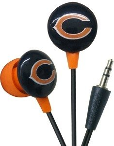 Chicago Bears Ear Buds image