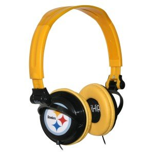 NFL Pittsburgh Steelers iHip Slim DJ Headphones image