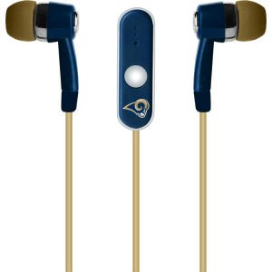 NFL St. Louis Rams Hands Free Ear Buds with Microphone image