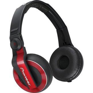 Pioneer HDJ-500R DJ Headphones – Red image