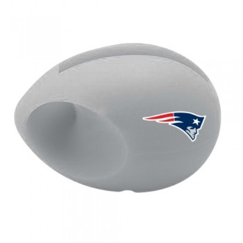 NFL New England Patriots Silicone Egg Speaker and Amplifier with Stand image