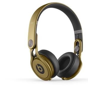 Beats Mixr On Ear Headphones – (Gold) image