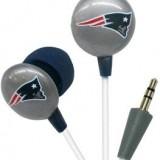New England Patriots NFL Team Logo iHip Ear buds (iPod, iPad, iPhone Compatible) thumbnail