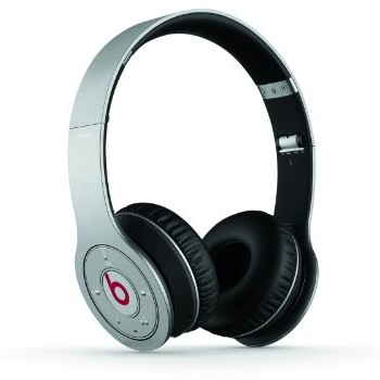 Beats Wireless On-Ear Headphone (Silver-Discontinued by Manufacturer)) image