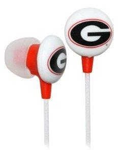 Georgia Bulldogs Ear Buds image