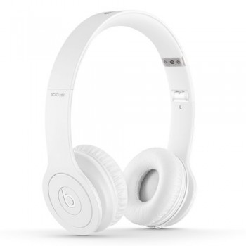 Beats Solo HD On-Ear Headphone (Drenched in White) image
