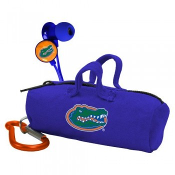 NCAA Florida Gators Scorch Earbuds with Bud Bag image
