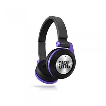 JBL E40BT Purple High-Performance Wireless On-Ear Bluetooth Stereo Headphone, Purple image