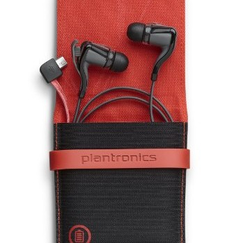 Plantronics BackBeat GO 2 Bluetooth Wireless Stereo Earbuds with Charging Case – Retail Packaging – Black image