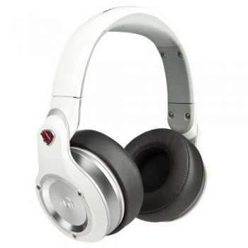 Monster Over-Ear DJ Headphones (White) image