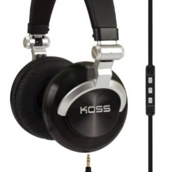 Koss ProDj200 Studio Headphone – Black/Silver image