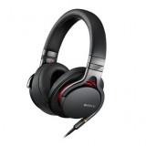 Sony MDR1A Premium Hi-Res Stereo Headphones (Black) thumbnail