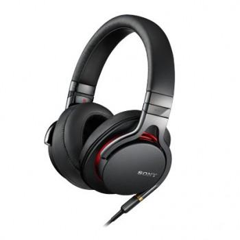 Sony MDR1A Premium Hi-Res Stereo Headphones (Black) image