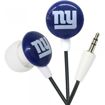 Zeikos New York Giants Ear Bud Headphones image