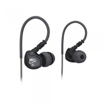 MEElectronics Sport-Fi M6 Noise Isolating In-Ear Headphones with Memory Wire (Black) image