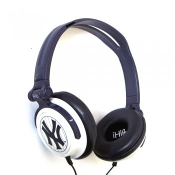 MLB New York Yankees iHip Slim DJ headphones image