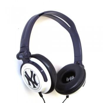 MLB New York Yankees iHip Slim DJ headphones image