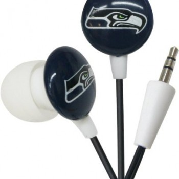 Seattle Seahawks NFL Team Logo iHip Ear buds (iPod, iPad, iPhone Compatible) image