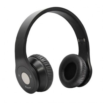Bluedio Model B – Wireless and Bluetooth Stereo Headphones w/ FM Radio/ SD Cared (Black) image