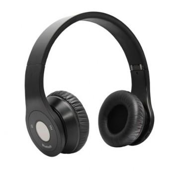 Bluedio Model B – Wireless and Bluetooth Stereo Headphones w/ FM Radio/ SD Cared (Black) image